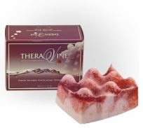Grape Infused Exfoliating SPonge Soap